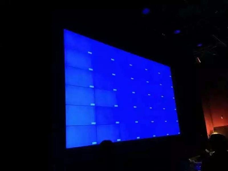 郑州儿童医院46寸6X6单元液晶拼接屏