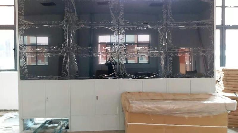 广东财经大学拼接屏46寸安装