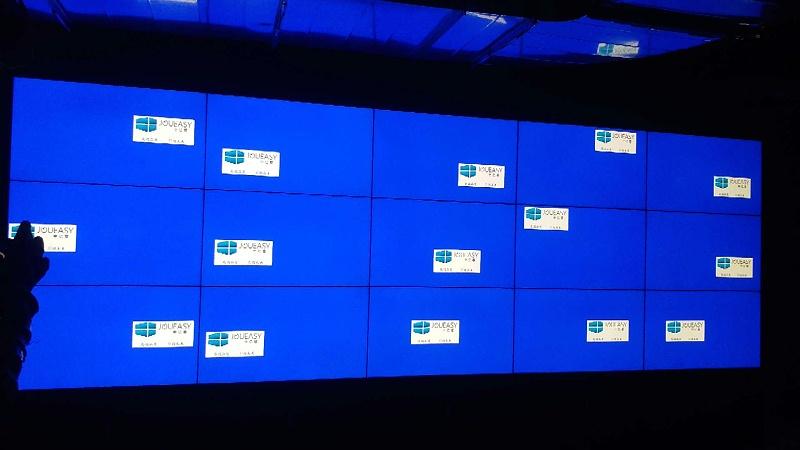 大连小窑湾国际商务综合管廊46寸液晶拼接屏3X5拼接