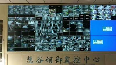 中亿睿液晶拼接大屏幕拼接屏系统方案打造山东临沂慧谷领御智慧小区