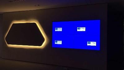 中亿睿液晶拼接屏助力新睿信智能物联研究院打造智能化企业展厅