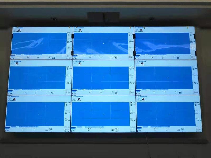 中亿睿拼接屏助力浙江天喜厨电公司建设目数字化培训室安装现场