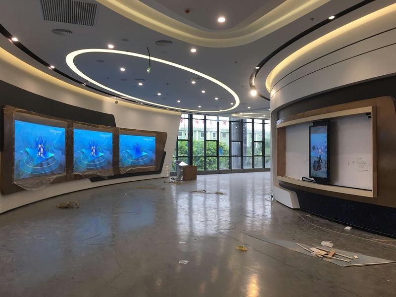 中亿睿滑轨屏助力肇庆高新区自主创新科技馆项目顺利竣工